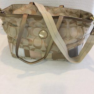 Coach Large Tote Bag and Wallet